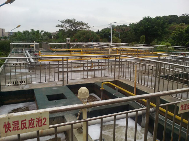 2500t每日电镀废水工程