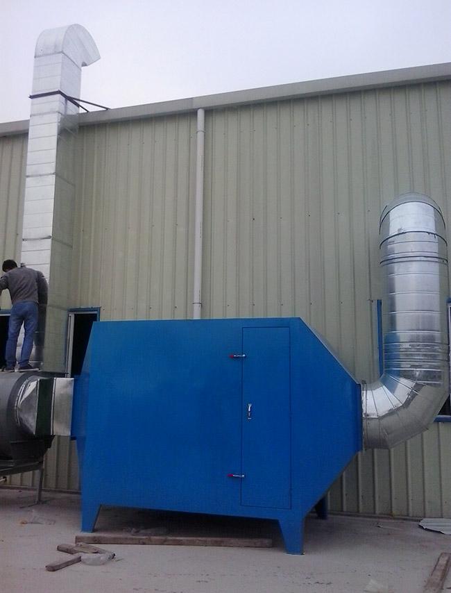 有机废气活性炭吸附处理